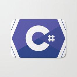 c# developers logo dot net Bath Mat