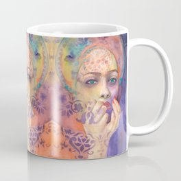 Queen Arabela with Blue eyes Coffee Mug