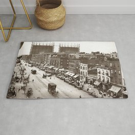 Little Italy NYC Photograph (1908) Rug