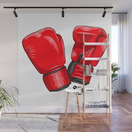 Boxing Gloves Wall Mural
