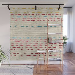 Yarns - Between the lines Wall Mural