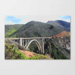 Look at the Bixby Bridge Canvas Print