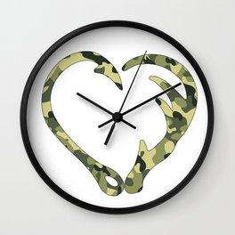 Love Hunting Wall Clock