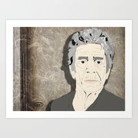 lou reed Art Prints featuring Lou Reed by DDR®