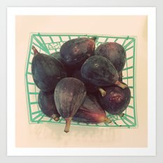Figs in a Basket Color Photo Art Print