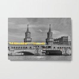 Berlin Oberbaumbruecke Metal Print