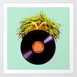 Summer Sound System Art Print