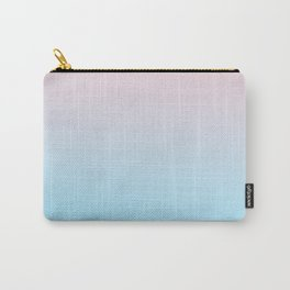 HEAD IN THE CLOUDS - Minimal Plain Soft Mood Color Blend Prints Carry-All Pouch