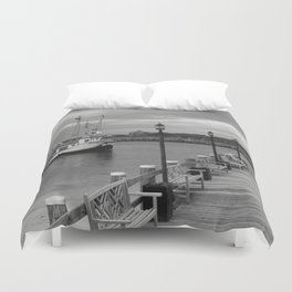 New Species Heading Home Duvet Cover