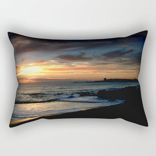 Sunrise over Bass Strait - Tasmania Rectangular Pillow