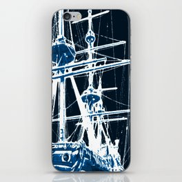 Light's storm iPhone Skin