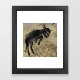 Salt the Earth Framed Art Print