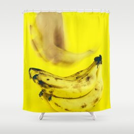 Grab a banana Shower Curtain