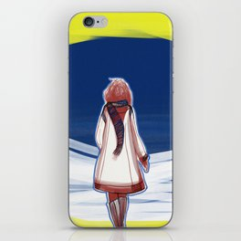 I turn my back to Winter iPhone Skin