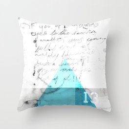 Abstract Geometry 4  Throw Pillow