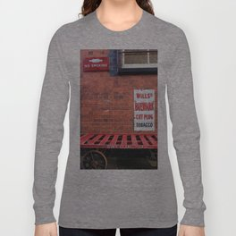 Vintage Railway Signs Long Sleeve T-shirt