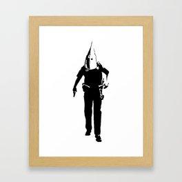 KKKop Framed Art Print