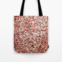 sparkles Tote Bags featuring Sparkles by Sharon Johnstone