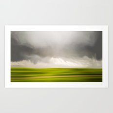 Stormy May Day Art Print