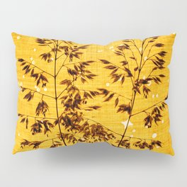 Delicate grasses - light and shadow #1 Pillow Sham