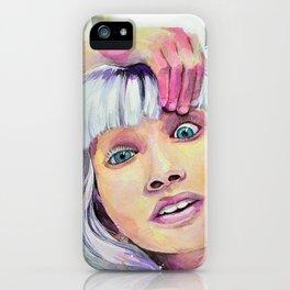 Chandelier Girl iPhone Case