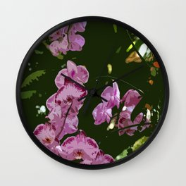 Pretty In Pink Wall Clock