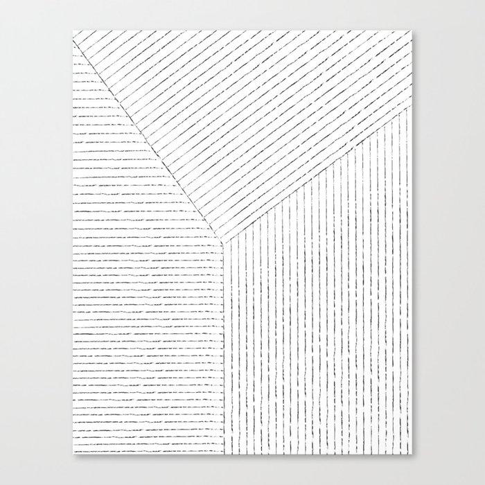 Lines Art Canvas Print