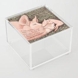 Pigs 1 Acrylic Box