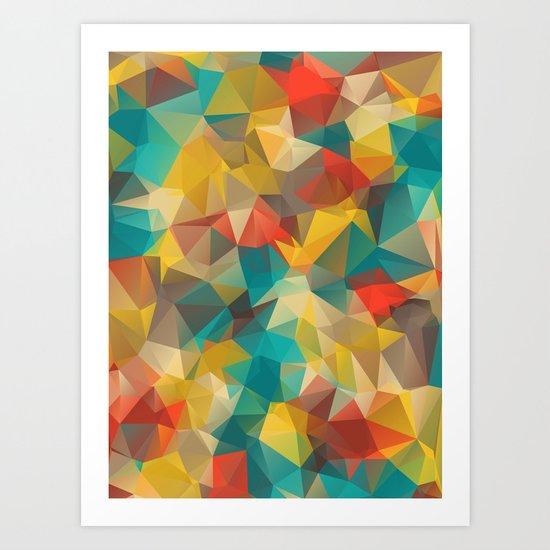 FiveDiamond Art Print