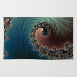 Velvet Crush - Fractal Art Rug