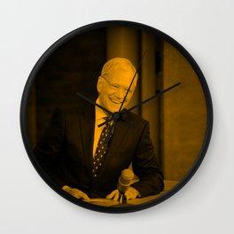 David Letterman Wall Clock