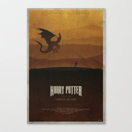 The Goblet of Fire Canvas Print