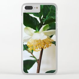 Tea Tree Flower Clear iPhone Case