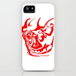 face8 red iPhone Case