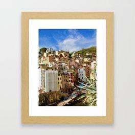 Riomaggiore, Cinque Terre, Italy Framed Art Print