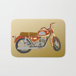 Vintage Motorcycle Gems II Bath Mat