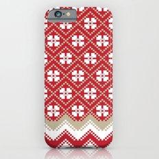 Glove in Red iPhone 6s Slim Case