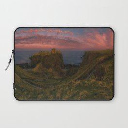 Fort On The Shelving Slope Laptop Sleeve
