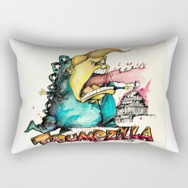 Trumpzilla Rectangular Pillow