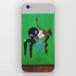 """Last Minute Abduction"" iPhone Skin"
