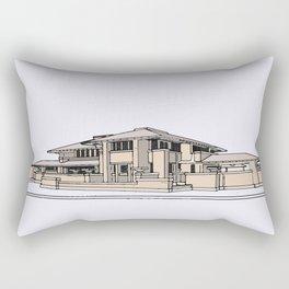 Darwin Martin House Rectangular Pillow