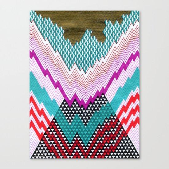 Isometric Harlequin #5 Canvas Print