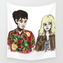 James & Alyssa Wall Tapestry
