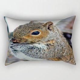 Bashful Curiosity Rectangular Pillow