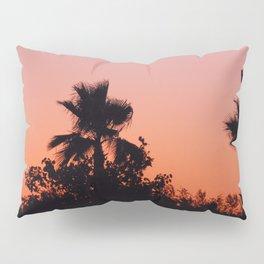 Palm Trees on Purple Pillow Sham