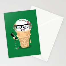 Ice Cream Coneover (Holiday Edition) Stationery Cards