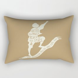 To Succeed you Must Reach for the Stars and Let you Imagination find its own Path - Aladdin Rectangular Pillow