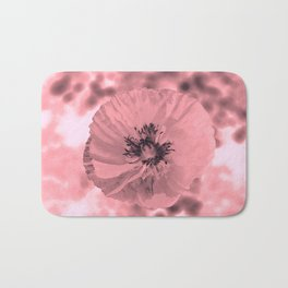 pink poppy Bath Mat