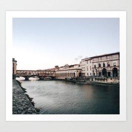 Ponte Vecchio in Florence Kunstdrucke
