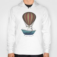 whales Hoodies featuring Whales by Galen Valle